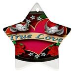 True-Love-Tattoo-Belt-Buckle Ornament (Star)