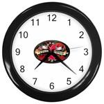 True-Love-Tattoo-Belt-Buckle Wall Clock (Black)