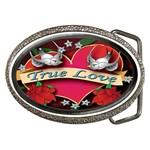 True-Love-Tattoo-Belt-Buckle Belt Buckle