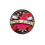 True-Love-Tattoo-Belt-Buckle Hat Clip Ball Marker