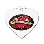 True-Love-Tattoo-Belt-Buckle Dog Tag Heart (One Side)