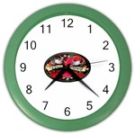 True-Love-Tattoo-Belt-Buckle Color Wall Clock
