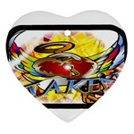 Taken-Tattoo-Belt-Buckle Ornament (Heart)