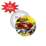 Taken-Tattoo-Belt-Buckle 1.75  Button (10 pack)