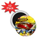 Taken-Tattoo-Belt-Buckle 1.75  Magnet (10 pack)