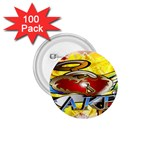 Taken-Tattoo-Belt-Buckle 1.75  Button (100 pack)