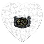 Rock-n-Roll-For-Life-Tattoo-Belt-Buckle Jigsaw Puzzle (Heart)