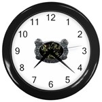 Rock-n-Roll-For-Life-Tattoo-Belt-Buckle Wall Clock (Black)