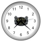 Rock-n-Roll-For-Life-Tattoo-Belt-Buckle Wall Clock (Silver)