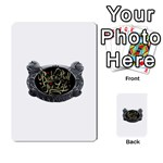 Rock-n-Roll-For-Life-Tattoo-Belt-Buckle Multi-purpose Cards (Rectangle)
