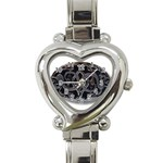 punkb Heart Italian Charm Watch