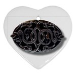 punkb Heart Ornament (Two Sides)