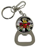 Oval-Black-Mind_-Body-and-Soul-Tattoo-Belt-Buckle Bottle Opener Key Chain