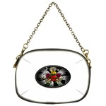 Oval-Black-Mind_-Body-and-Soul-Tattoo-Belt-Buckle Chain Purse (One Side)