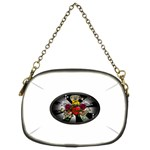 Oval-Black-Mind_-Body-and-Soul-Tattoo-Belt-Buckle Chain Purse (Two Sides)