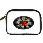Oval-Black-Mind_-Body-and-Soul-Tattoo-Belt-Buckle Digital Camera Leather Case