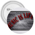 Music-Is-Life-Belt-Buckle 3  Button