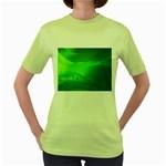 4-702-Fwallpapers_077 Women s Green T-Shirt