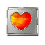 4-703-Fwallpapers_079 Mega Link Heart Italian Charm (18mm)