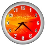 4-703-Fwallpapers_079 Wall Clock (Silver)