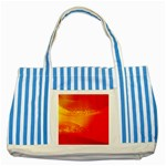 4-703-Fwallpapers_079 Striped Blue Tote Bag