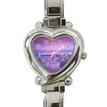 4-15-Backgrounds_1024x768_002 Heart Italian Charm Watch