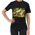 2-1252-Igaer-1600x1200 Women s Black T-Shirt (Two Sides)