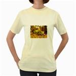 2-95-Animals-Wildlife-1024-028 Women s Yellow T-Shirt