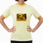 2-95-Animals-Wildlife-1024-028 Women s Fitted Ringer T-Shirt