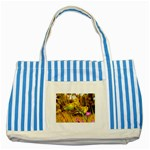 2-95-Animals-Wildlife-1024-028 Striped Blue Tote Bag