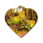 2-95-Animals-Wildlife-1024-028 Dog Tag Heart (One Side)