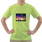 2-77-Animals-Wildlife-1024-010 Green T-Shirt