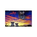 2-77-Animals-Wildlife-1024-010 Sticker Rectangular (10 pack)