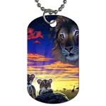 2-77-Animals-Wildlife-1024-010 Dog Tag (Two Sides)