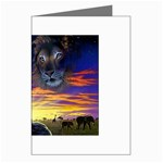 2-77-Animals-Wildlife-1024-010 Greeting Cards (Pkg of 8)