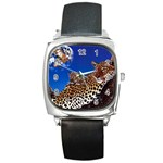 2-74-Animals-Wildlife-1024-007 Square Metal Watch