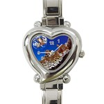 2-74-Animals-Wildlife-1024-007 Heart Italian Charm Watch