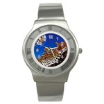 2-74-Animals-Wildlife-1024-007 Stainless Steel Watch