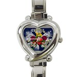 Mind_-Body-_-Soul-Tattoo-Belt-Buckle Heart Italian Charm Watch