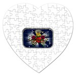 Mind_-Body-_-Soul-Tattoo-Belt-Buckle Jigsaw Puzzle (Heart)