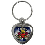 Mind_-Body-_-Soul-Tattoo-Belt-Buckle Key Chain (Heart)
