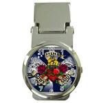 Mind_-Body-_-Soul-Tattoo-Belt-Buckle Money Clip Watch