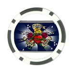 Mind_-Body-_-Soul-Tattoo-Belt-Buckle Poker Chip Card Guard (10 pack)