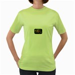 Love-Hurts-Tattoo-Chrome-Belt-Buckle Women s Green T-Shirt