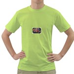 Love-Hurts-Tattoo-Chrome-Belt-Buckle Green T-Shirt