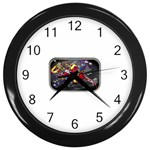 Love-Hurts-Tattoo-Chrome-Belt-Buckle Wall Clock (Black)