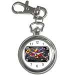 Love-Hurts-Tattoo-Chrome-Belt-Buckle Key Chain Watch