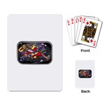 Love-Hurts-Tattoo-Chrome-Belt-Buckle Playing Cards Single Design
