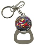 Love-Hurts-Tattoo-Chrome-Belt-Buckle Bottle Opener Key Chain