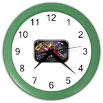 Love-Hurts-Tattoo-Chrome-Belt-Buckle Color Wall Clock